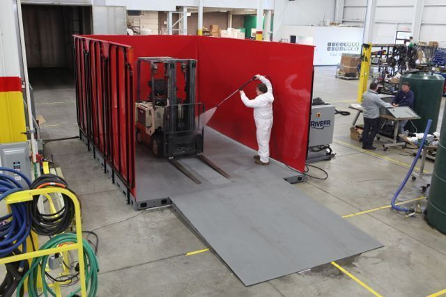 industrial wash rack
